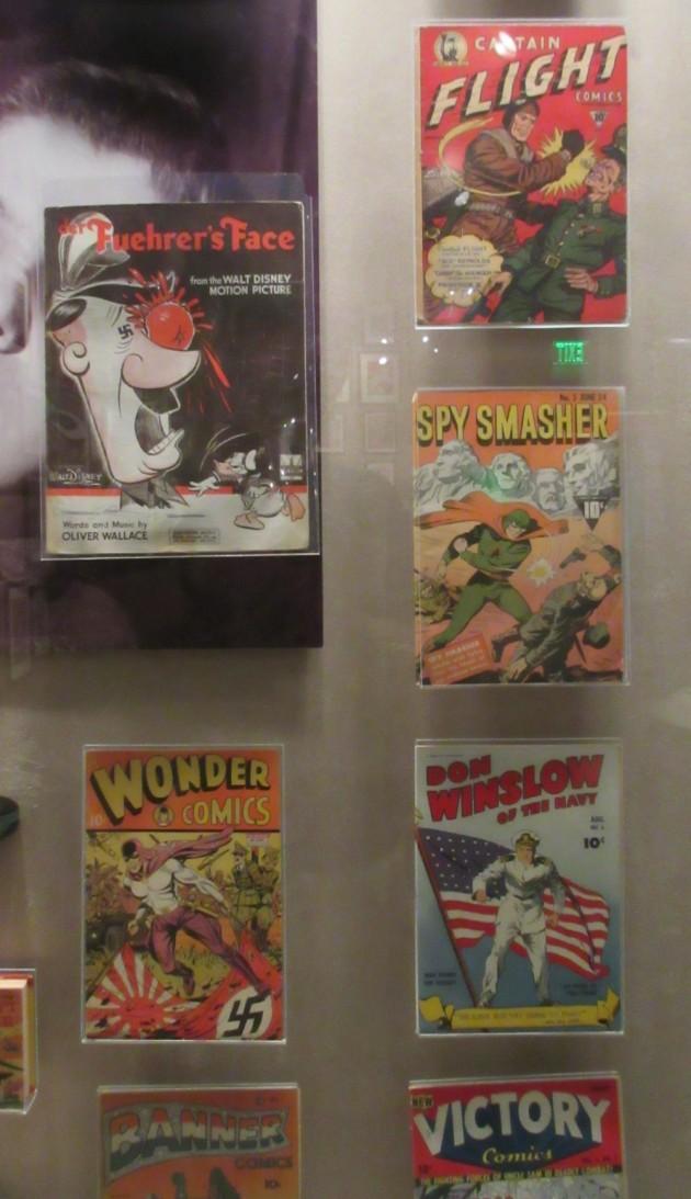anti-Nazi comics!