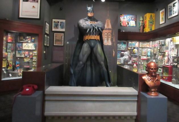Batman section!