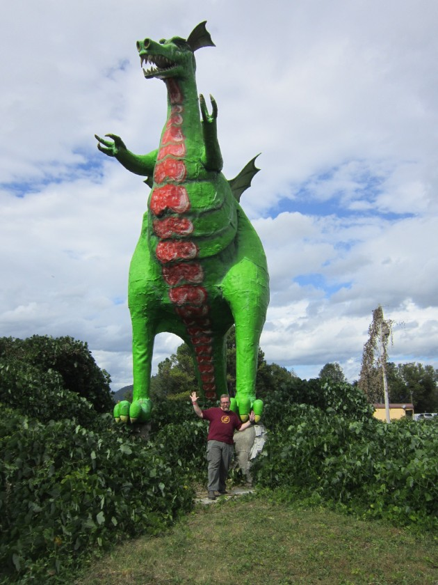 Big Green Dragon!