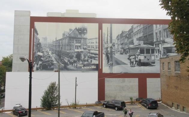 B+W Mural!