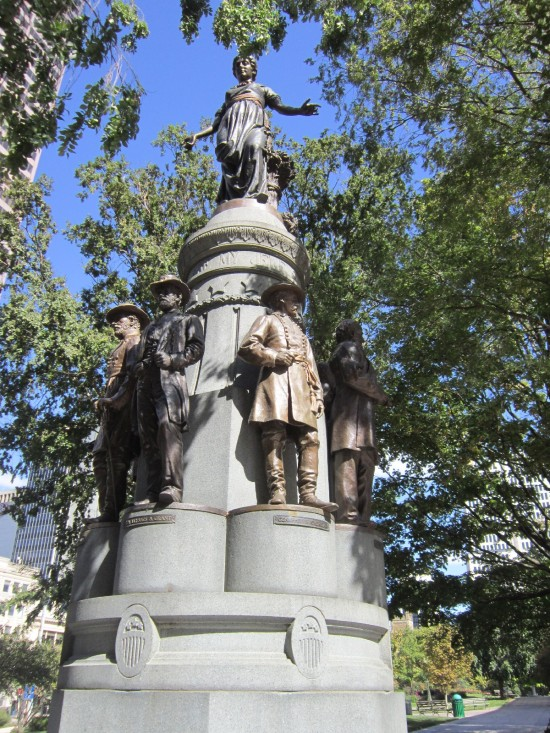 Civil War monument!