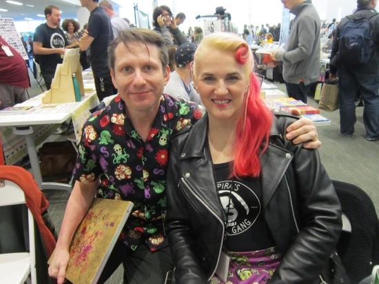 Evan Dorkin + Sarah Dyer!