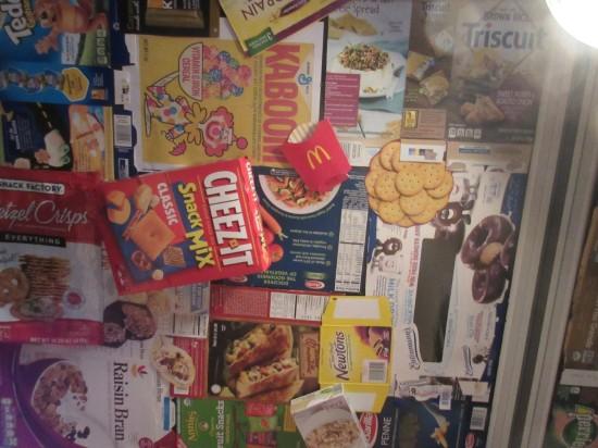 Food Packaging Ceiling!