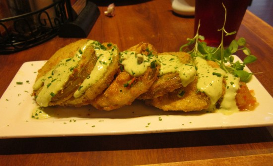 fried green tomatoes!
