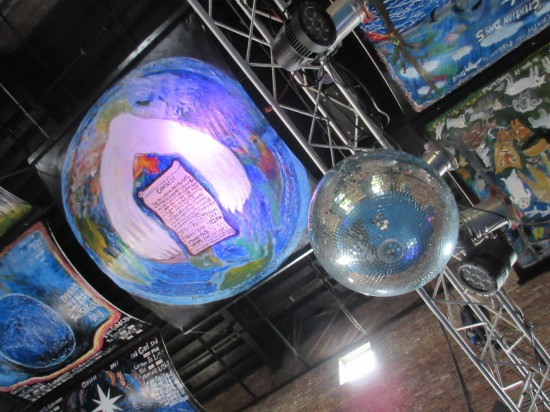 Genesis 2 + Disco Ball!