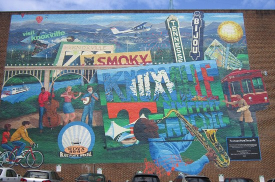 Knoxville mural!