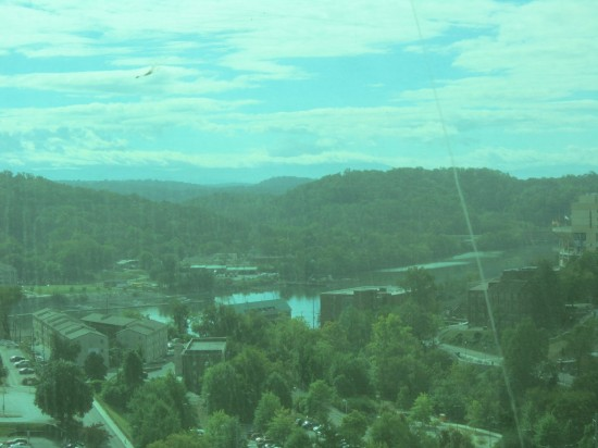 Knoxville view!