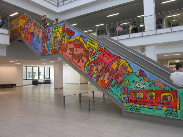 Libary Stairs!