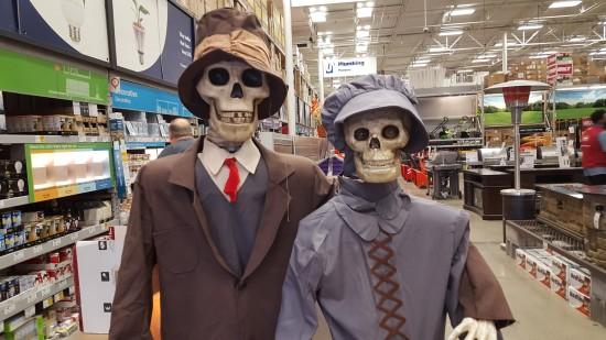 Lowe's Skeletons!