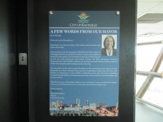 Mayor's Welcome!