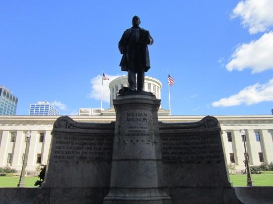 McKinley statue II!