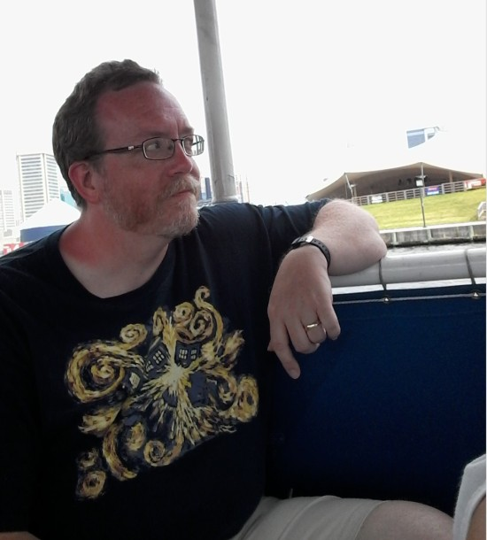 Me in Water Taxi!