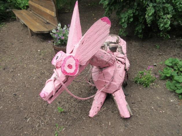 pink donkey!