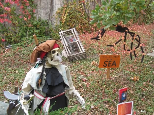 pirate sinking!