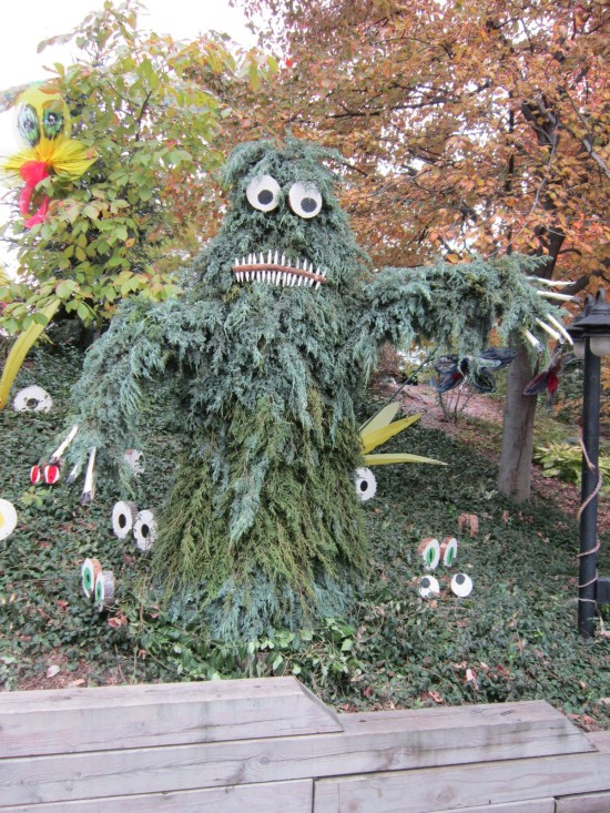 scary evergreen heap!
