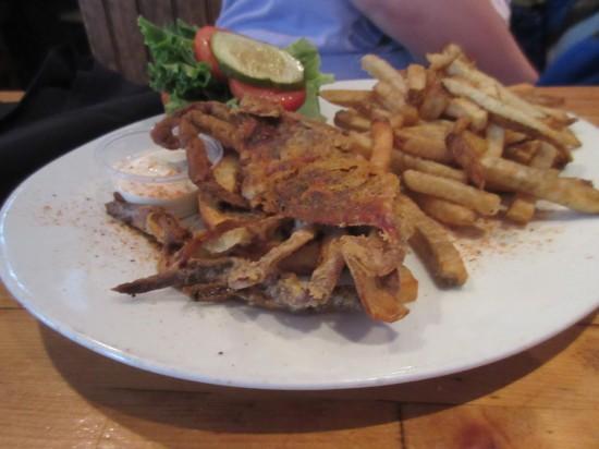 soft shell crab sandwich!