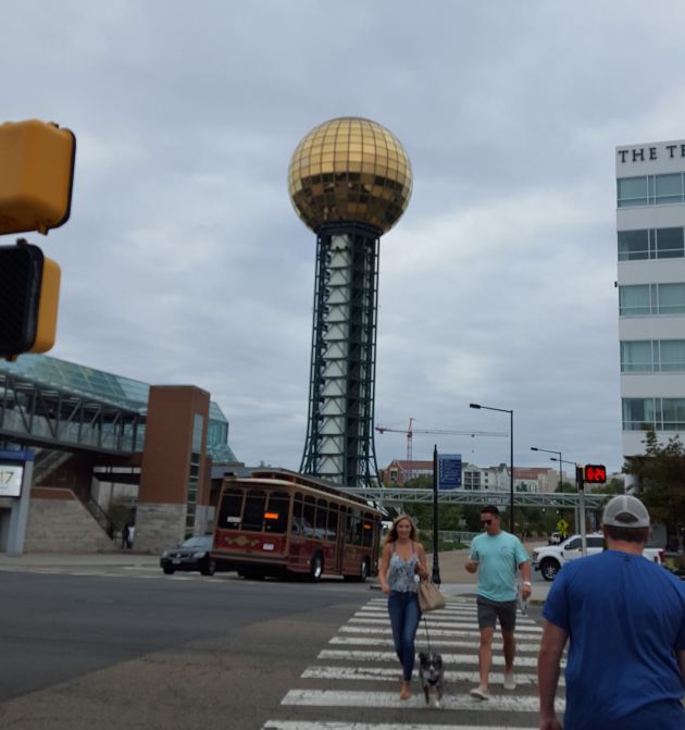 Sunsphere! Knoxville, Kentucky