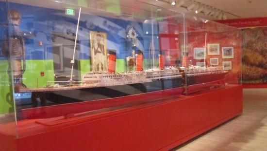 Toothpick Lusitania!