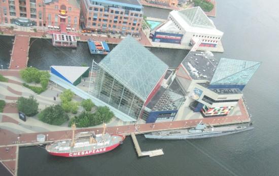 Aquarium WTC view!
