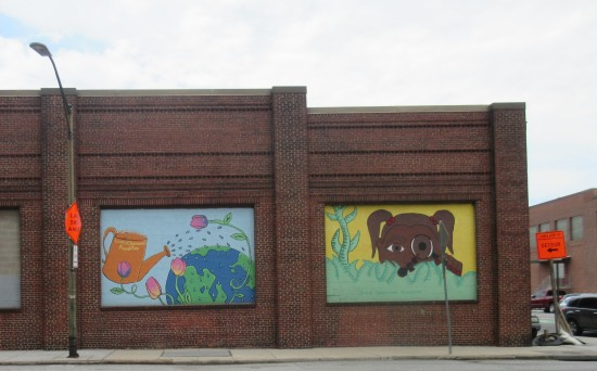 garage murals!