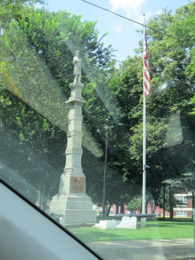 Bellaire monument!