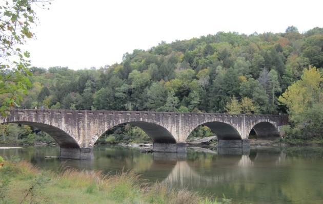 Cumberland Falls Bridge!