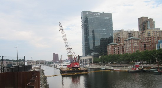 Crane waterfront!