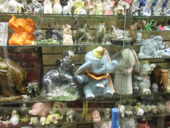elephants shelves!