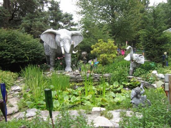 garden elephants!