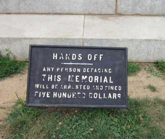 HANDS OFF.