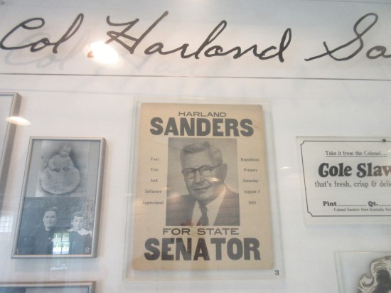 Harland Sanders for Senator!