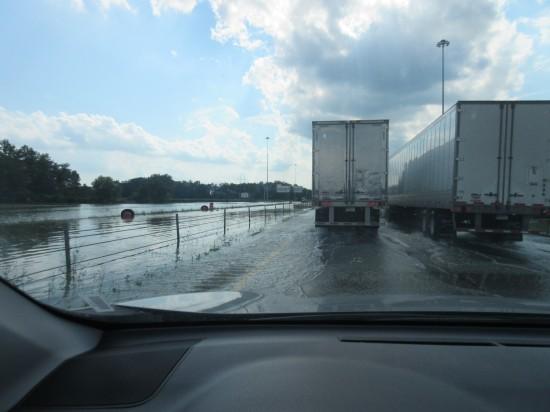 I-70 flood!