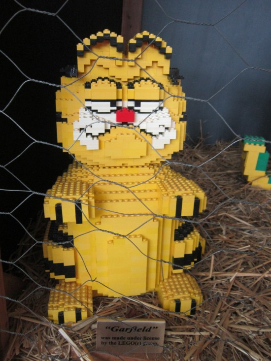 Lego Garfield!