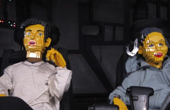 Lego Han and Leia!