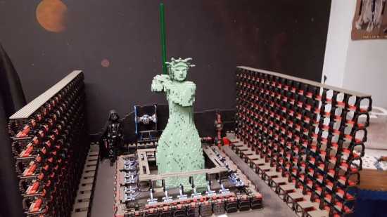 Lego Jedi Statue of Liberty!
