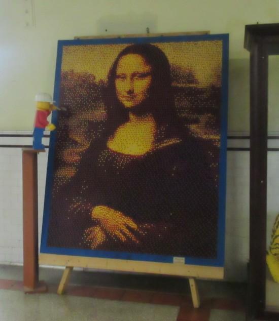 Lego Mona Lisa!