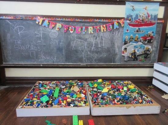 Lego pit!