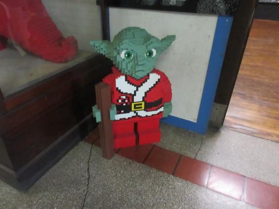 Lego Santa Yoda!