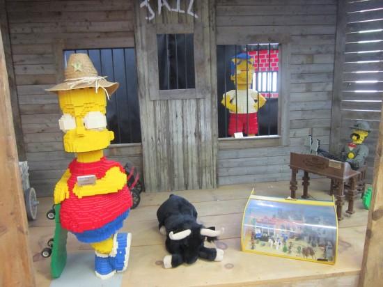 Lego Sheriff Bart!