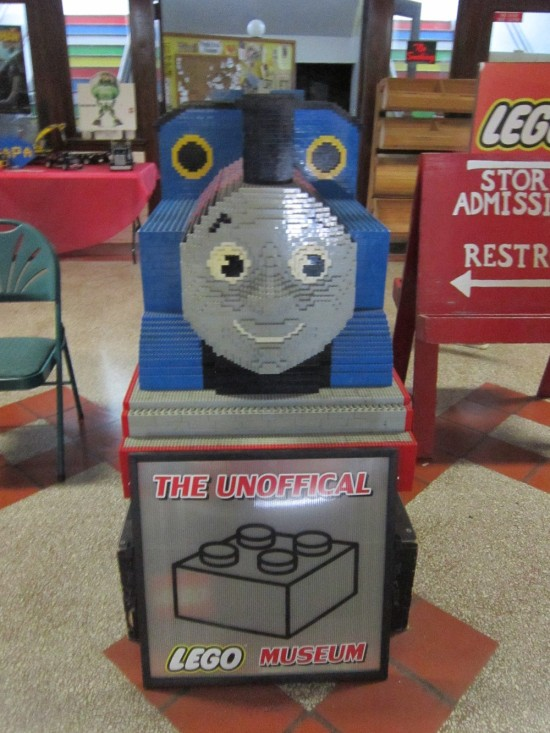 Lego Thomas the Tank Engine!