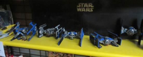 Lego TIE Fighters!