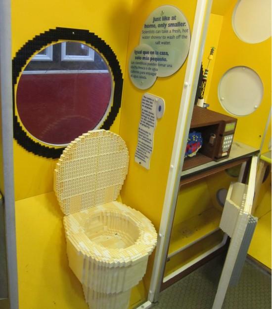 Lego toilet!