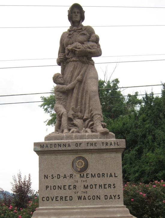 Madonna of the Trail!