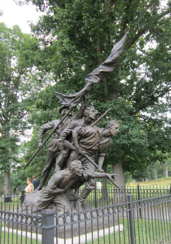 North Carolina soldiers!