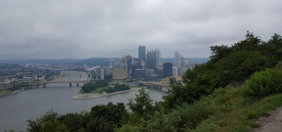 Pittsburgh right!