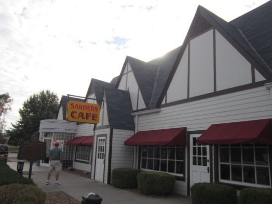 Sanders Cafe!