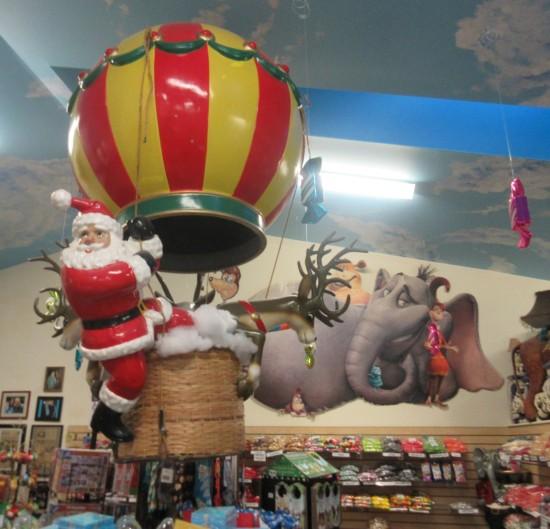 Santa balloon!