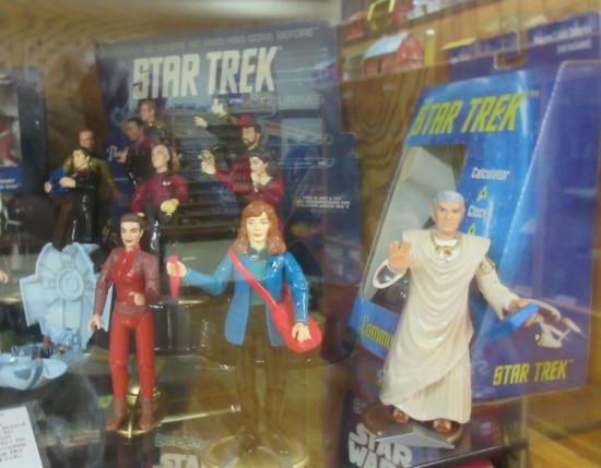 Star Trek figures!