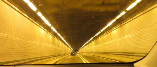 yellow tunnel!