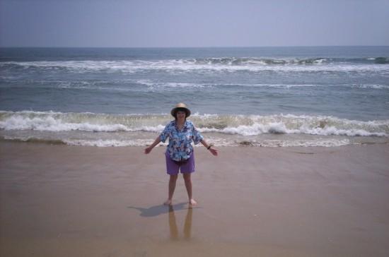 Anne + beach!